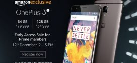 OnePlus 3T to Go on Sale Early for Amazon Prime Members in India