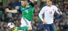 World Cup 2018: NI manager O'Neill lauds strikers Ward and Washington