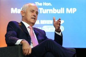 Australian PM Malcolm Turnbull backs Adani's coal mine project in Queensland